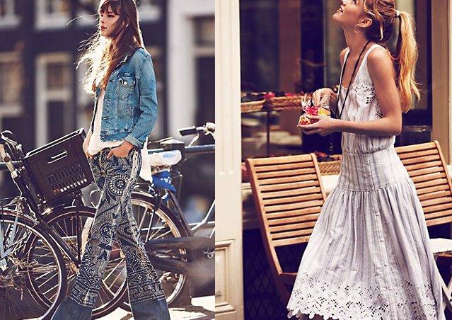 Sommerkleider boho style