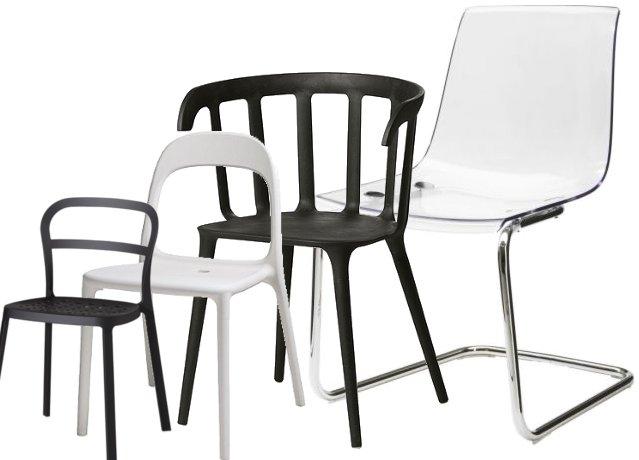 Neue b rost hle in skandinavischem design les attitudes for Stuhl plastikschale