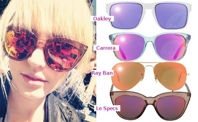 Ray Ban Sonnenbrille Verspiegelt