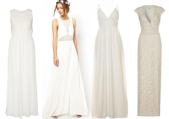 Hochzeitskolumne: 10 Brautkleider unter 700 Euro – Les Attitudes ...